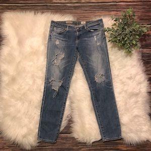 Adriano Goldschmied The Stilt Cigarette Jeans